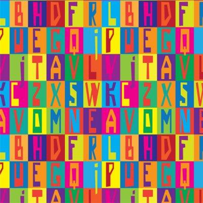 Obraz Textury písma