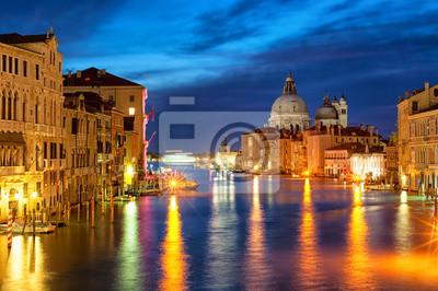 The Grand Canal a Santa Maria della Salute bazilika, Benátky, I