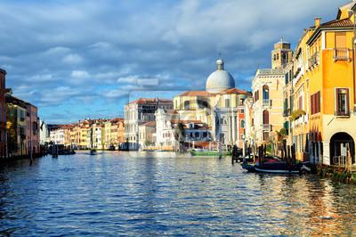 The Grand Canal, Benátky, Itálie