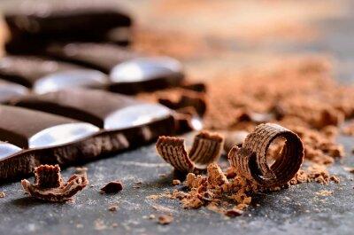 Obraz Tmavá čokoláda