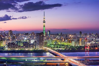 Obraz Tokio, Japonsko Skyline