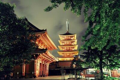 Obraz Tokyo chrám