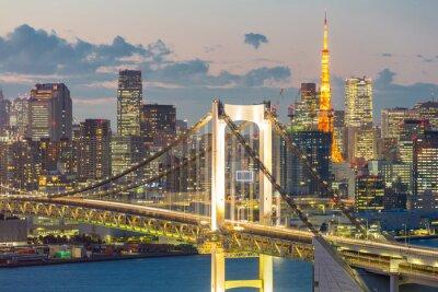 Obraz Tokyo Tower Duhový most
