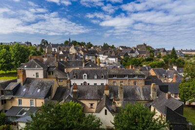 Town Vitre in Brittany - France