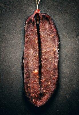Obraz Tradiční arménská Beef Jerky salám Sudzhuk s SPIC