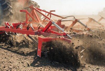 Obraz Traktor připravuje půda
