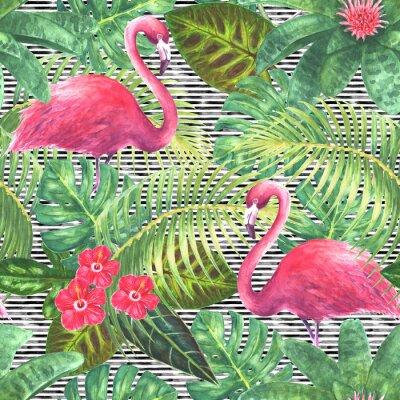 Obraz Trendy exotické bezešvé vzor