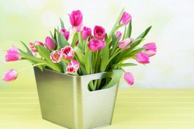 Obraz Tulpenstrauß in der váza