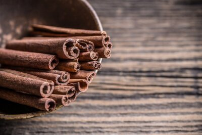 Obraz tyčinky skořice