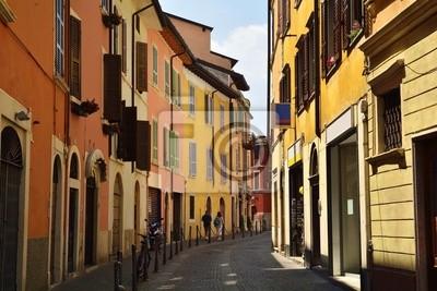 ulica w Salo nad jeziorem Garda
