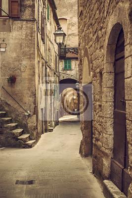 Ulice města Pitigliano