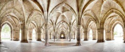 Obraz Univerzita Glasgow Cloisters panorama