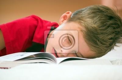 Usnul po studiu ...
