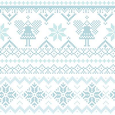 Obraz Vánoční Skandinávská Card - za pozvání, tapety