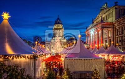 Obraz Vánoční trh Berlin