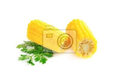 Vařená kukuřice sekané