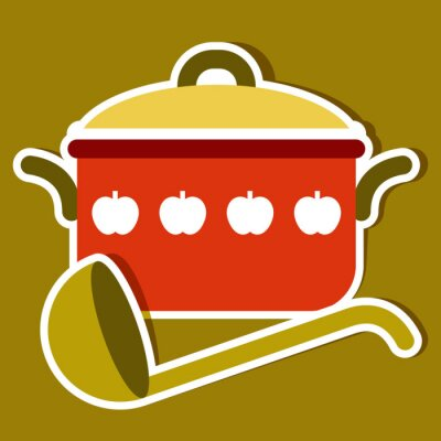 Obraz Vektorové kuchyňské symboly