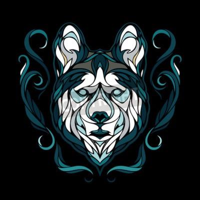 Obraz Vektorový obrázek psa Sibiřský husky