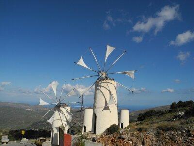 Obraz Větrný mlýn v Lasithi