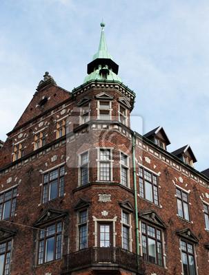 Věž v Copenhagn.