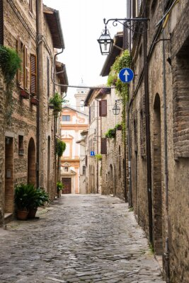 Obraz Vicolo romantico v Itálii