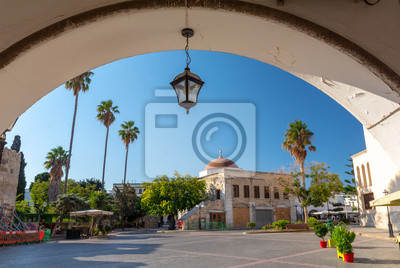 view on Old Town of Kos island, Greece