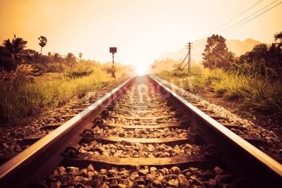 Obraz vinobraní železnice