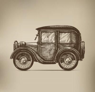Obraz Vintage Car
