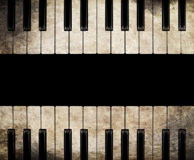 Obraz vintage piano izolované