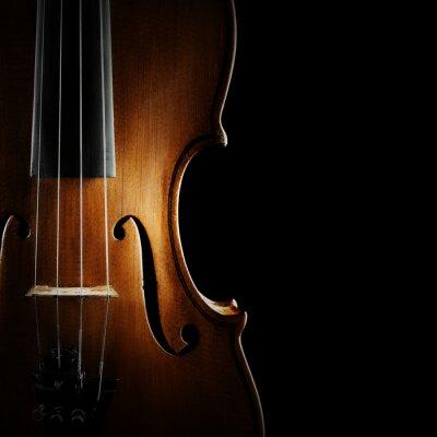Obraz Violin orchestr hudební nástroje