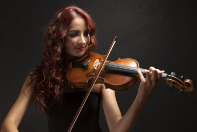 Obraz Violinst Woman