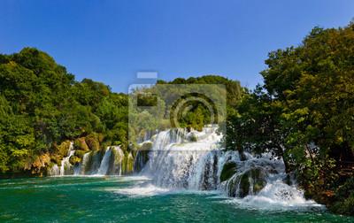 Vodopád KRKA v Chorvatsku