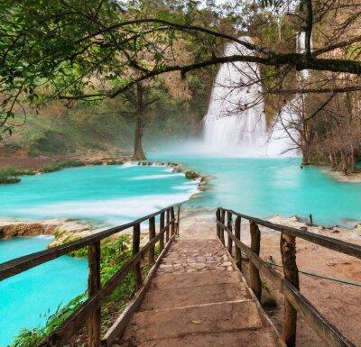 Obraz Vodopád v Mexiku
