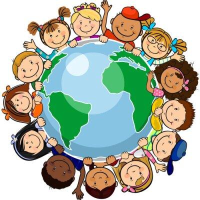 Obraz Všechny jednotní ve světě