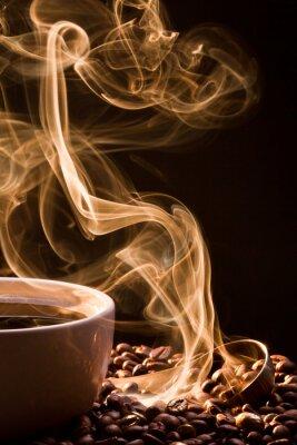 Obraz Vůně dobré káva ze šálku