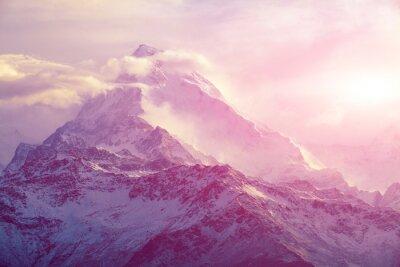Obraz Východ slunce na horách