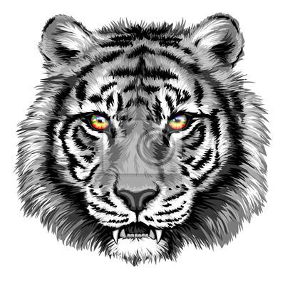 Obraz Výkonný Tiger s Bright Eyes