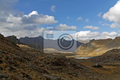 Obraz vysoká nadmořská výška jezera