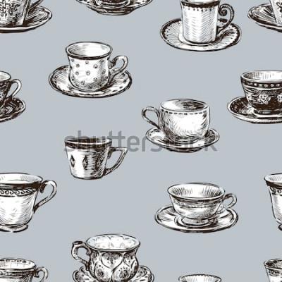Obraz vzor šálky