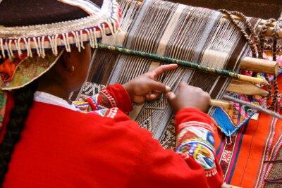 Obraz Weberin v Cusco / Peru