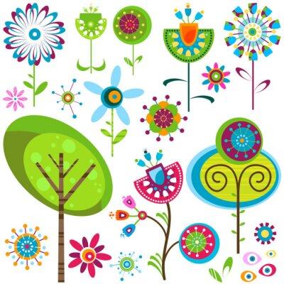 Obraz Whimsy květiny