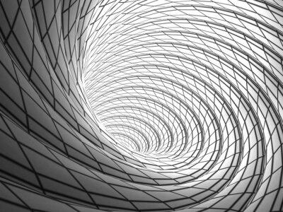 Obraz Wired Vortex Background