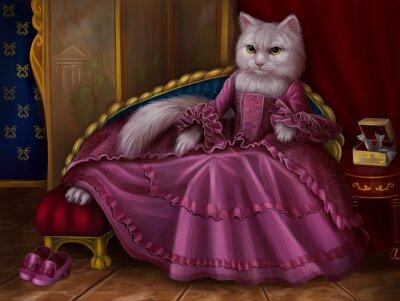 Obraz Кошка графиня