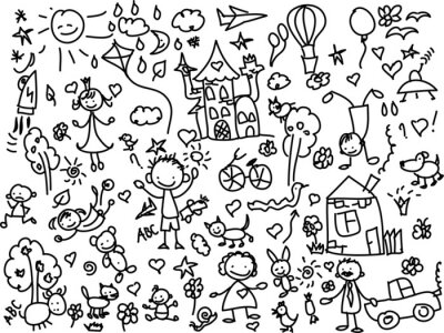 Obraz Детские рисунки