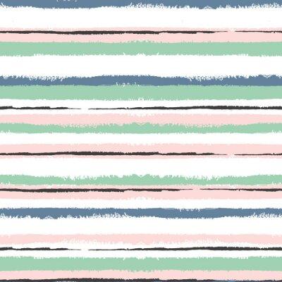 Obraz Grunge pruhované bezešvé vzor, Vintage zázemí pro balení, tapety, textilu