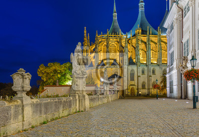 Kostel sv. Barbory ve městě Kutná Hora - Česká republika
