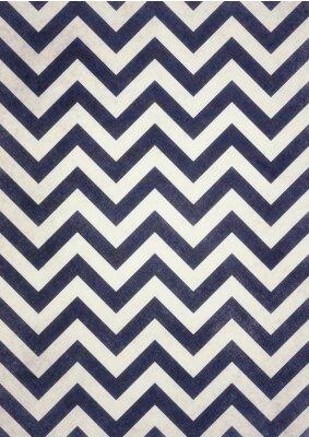 Obraz tmavá námořnická modř a černé krokve textury na starý bílý nouzi designu pozadí, tmavý cik-cak vzor, groovy vintage pozadí