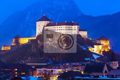 Zámek Kufstein v Rakousku