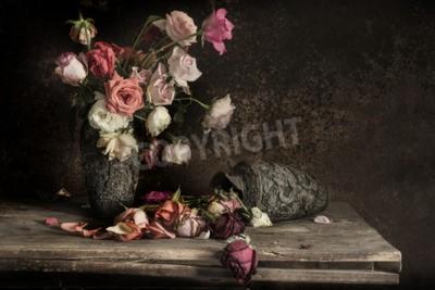 Obraz zátiší s květinou Fotografie