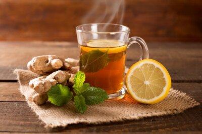 Obraz zázvorový čaj